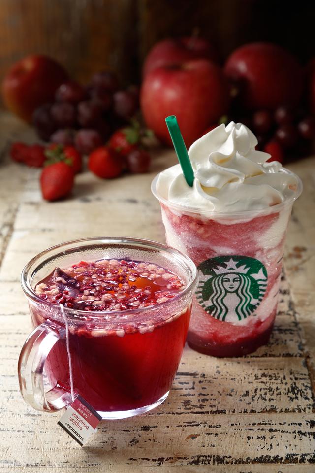 10月1日(木)から!紅茶ベースのスタバの新作「フルーツ クラッシュ」が美味しそう♡
