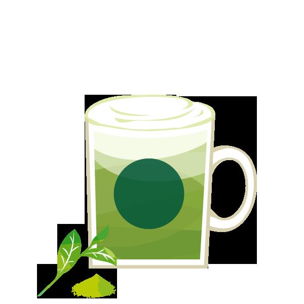 抹茶 ティー ラテ おすすめカスタマイズ