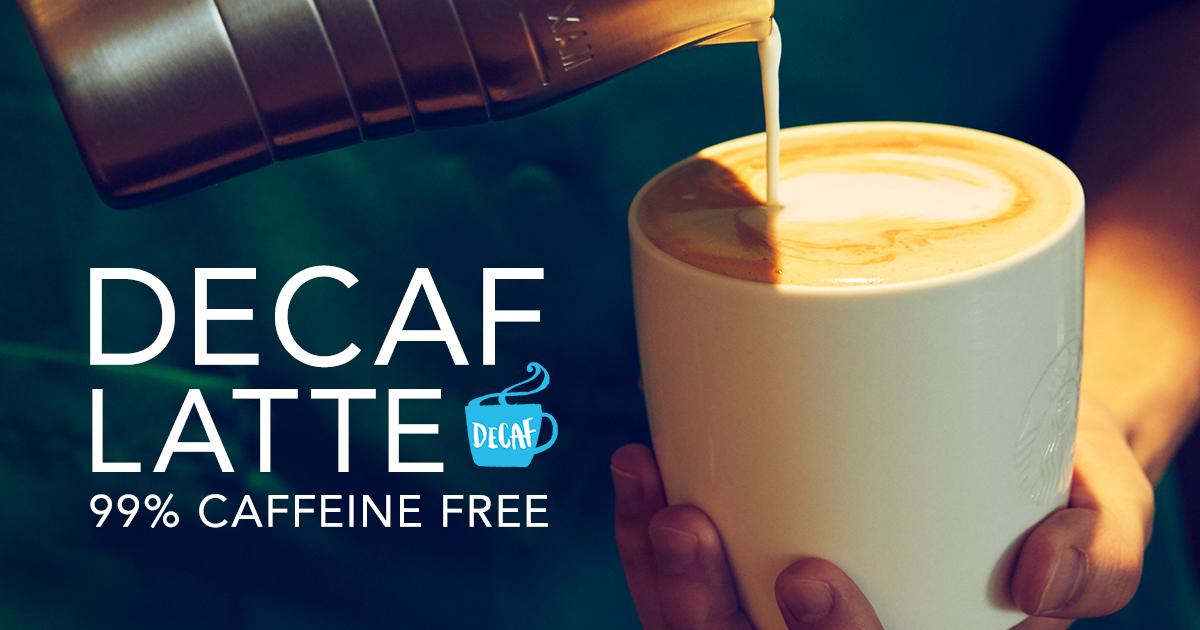 DECAF LATTE 99% CAFFEINE FREE