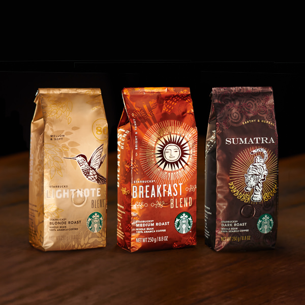 コーヒー豆:STARBUCKS® MEDIUM ROAST