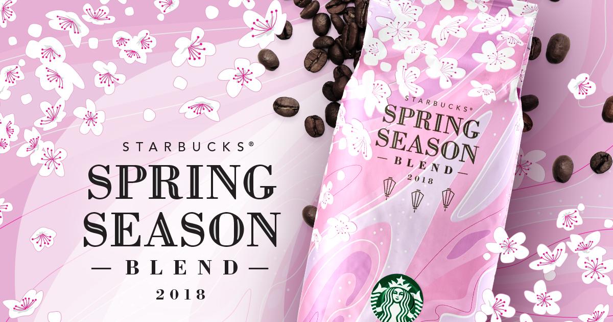 [季節のコーヒー] スターバックス® スプリング シーズン ブレンド