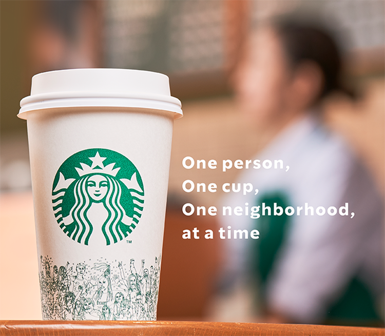 One person, One cup, One neighborhood, at a time