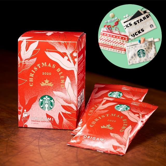 スターバックス オリガミ® パーソナルドリップ® コーヒー クリスマス ブレンド 6袋入り