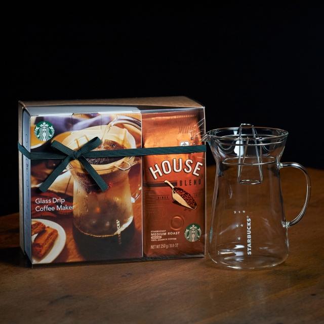 ハウス ブレンド&グラスドリップコーヒーメーカー セット