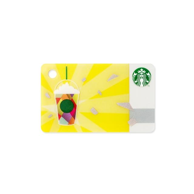 ミニ  スターバックス カード スパークル