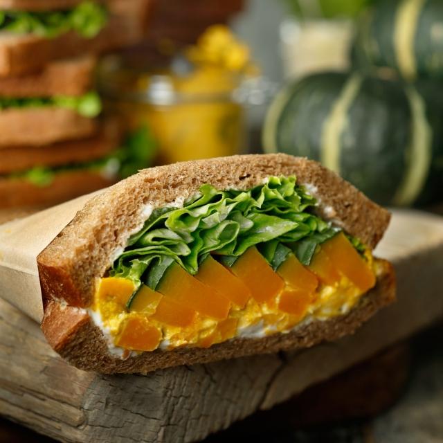 パンプキンサンドイッチ画像