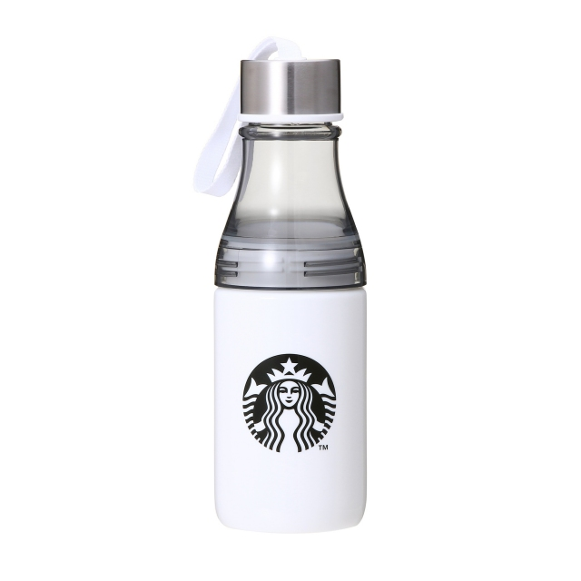 ストラップサニーボトル ホワイト 500ml