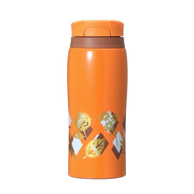 ステンレスアデリーボトルオレンジ 360ml