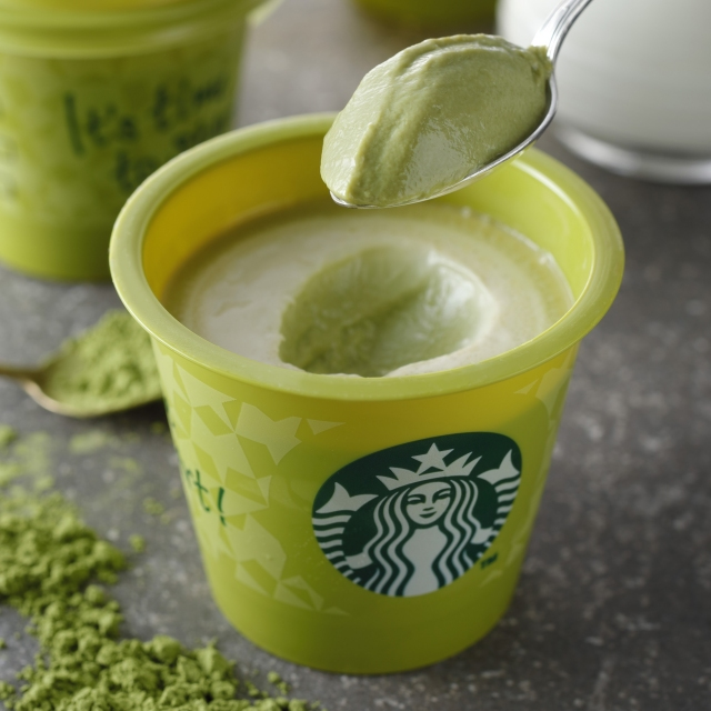 抹茶クリームプリン