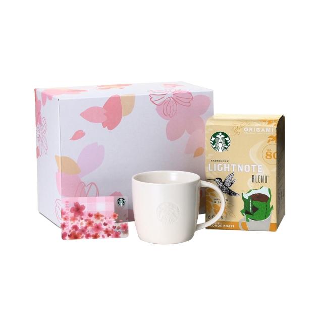 スターバックス オリガミ® ライトノート ブレンド® & ロゴマグ310ml (SAKURA カード付)