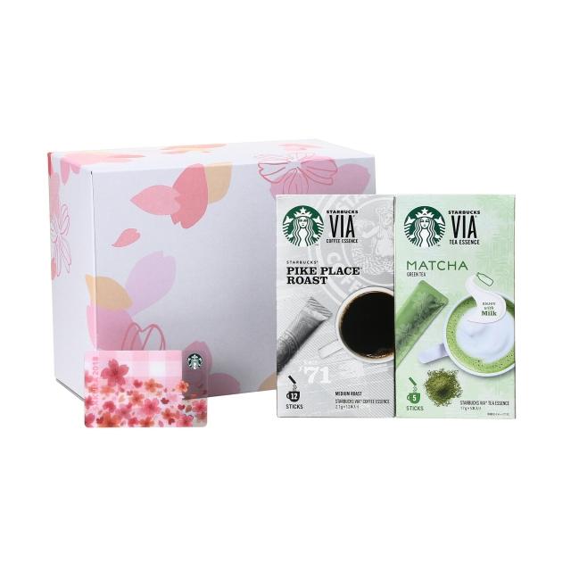 スターバックス ヴィア® パイクプレイス® ロースト & 抹茶 (SAKURA カード付)