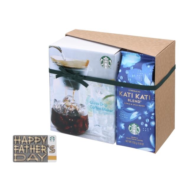 スターバックス カティ カティ ブレンド & グラスドリップコーヒーメーカー(Father's Day カード付)