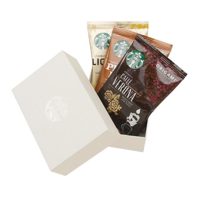 スターバックス オリガミ® アソートセット 3袋入り (白)