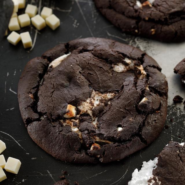 ブラックココア&ホワイトマシュマロクッキー