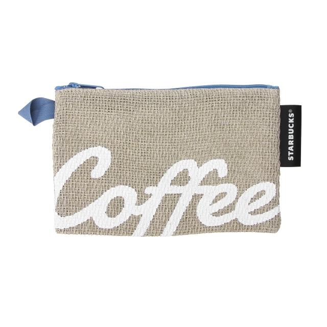 パナマ織りコーヒーポーチ