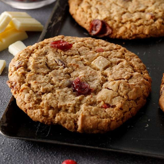 オートミールクランベリークッキー