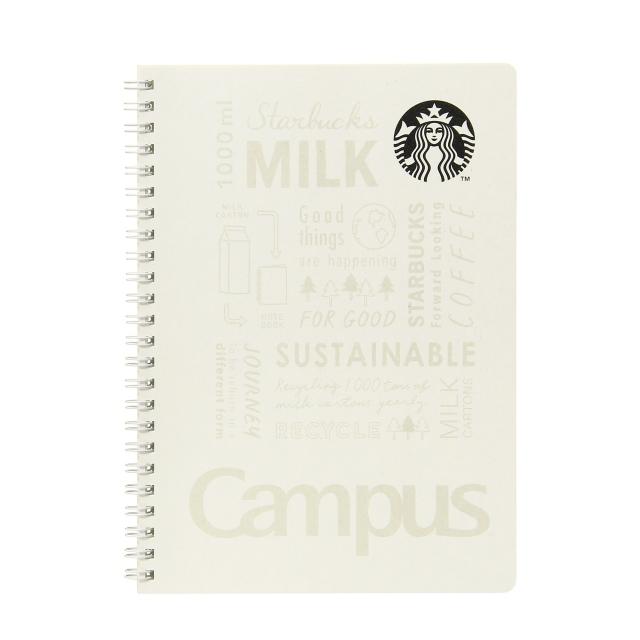 スターバックス キャンパスリングノート ホワイト