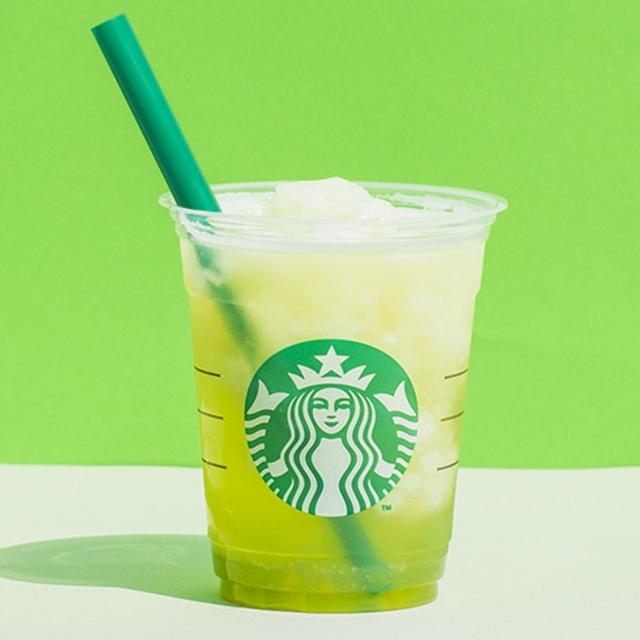 ティバーナ™ フローズン ティー 香る煎茶 × グリーン アップル