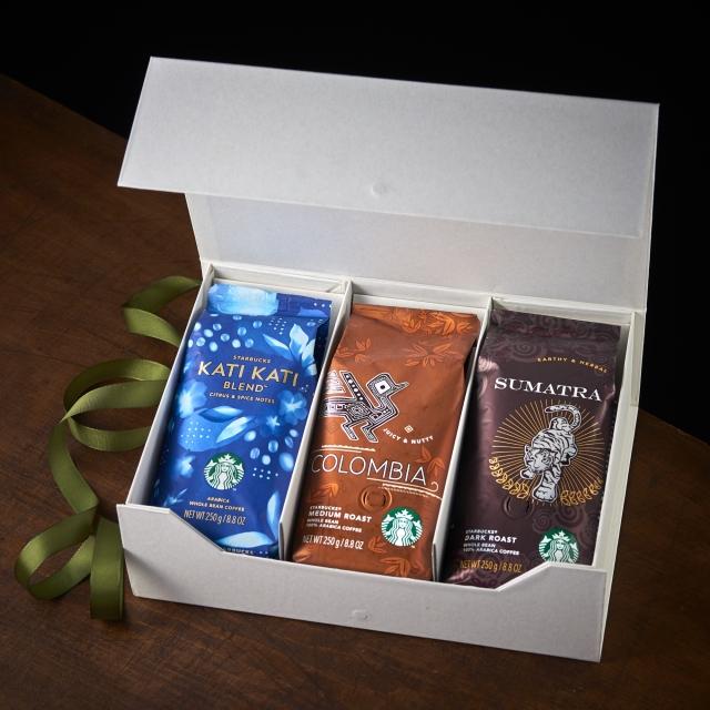 """スターバックス サマーコーヒージャーニー""""3region coffee"""" Whole Bean(豆)セット"""