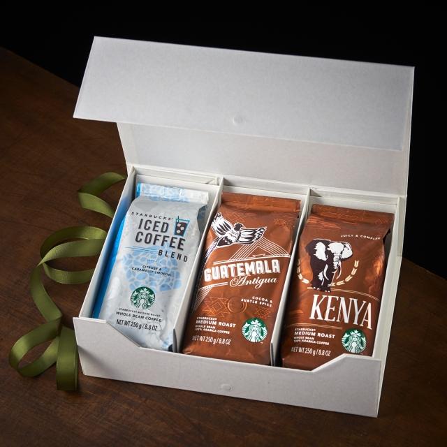 """スターバックス サマーコーヒージャーニー""""Iced coffee"""" Whole Bean(豆)セット"""
