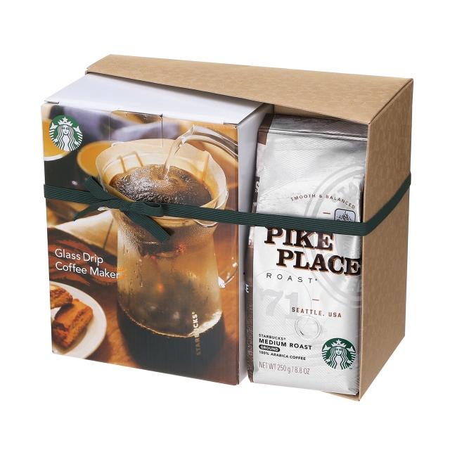パイクプレイス® ロースト&グラスドリップコーヒーメーカー セット