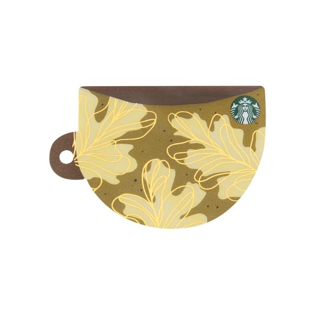 スターバックス カード コーヒーカップリーフ