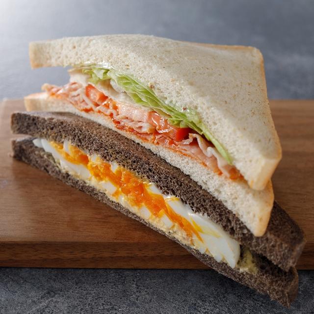 BLT&エッグサンドイッチ