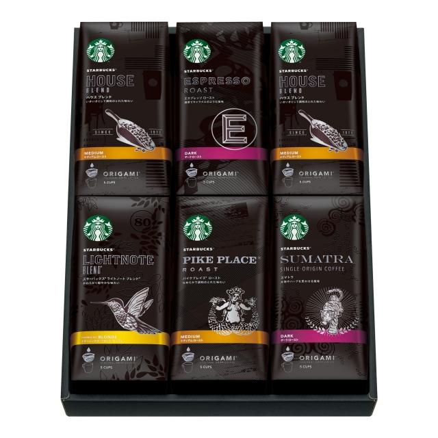 スターバックス オリガミ® パーソナルドリップ® コーヒー ギフト SBX-50F