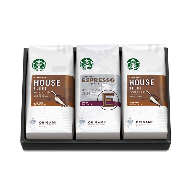 スターバックス オリガミ® パーソナルドリップ® コーヒー ギフト SB-20E