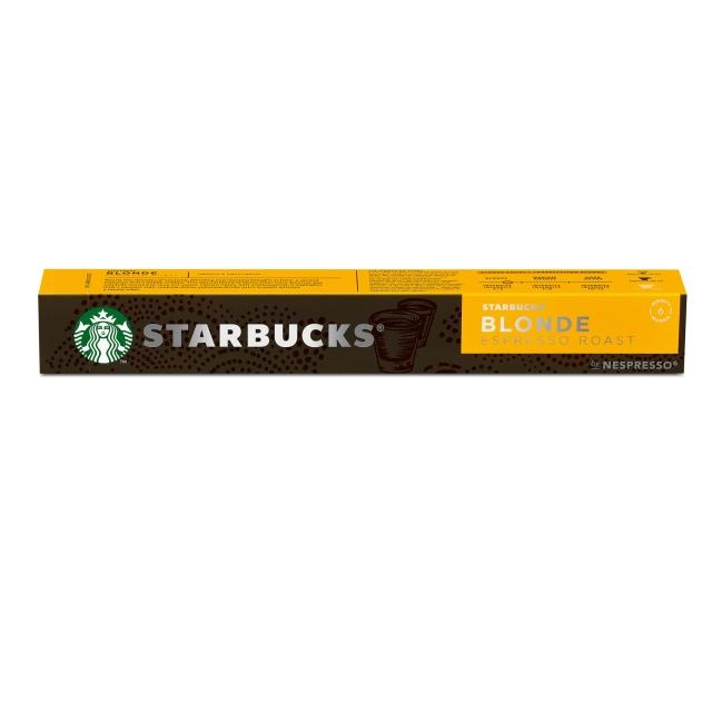 スターバックス ブロンド® エスプレッソ ロースト ネスプレッソ 専用カプセル (10杯分)