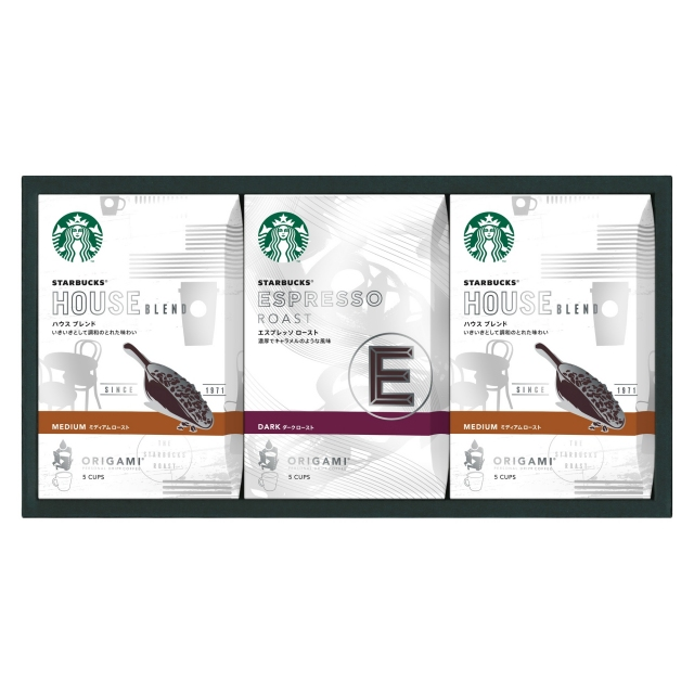 スターバックス オリガミ® パーソナルドリップ® コーヒー ギフト SB-20S