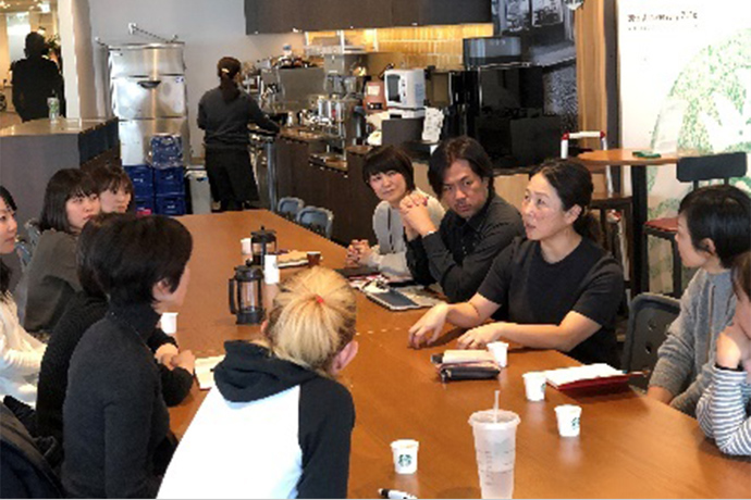 Women in Coffeeリレーインタビュー&Conversation over Coffee