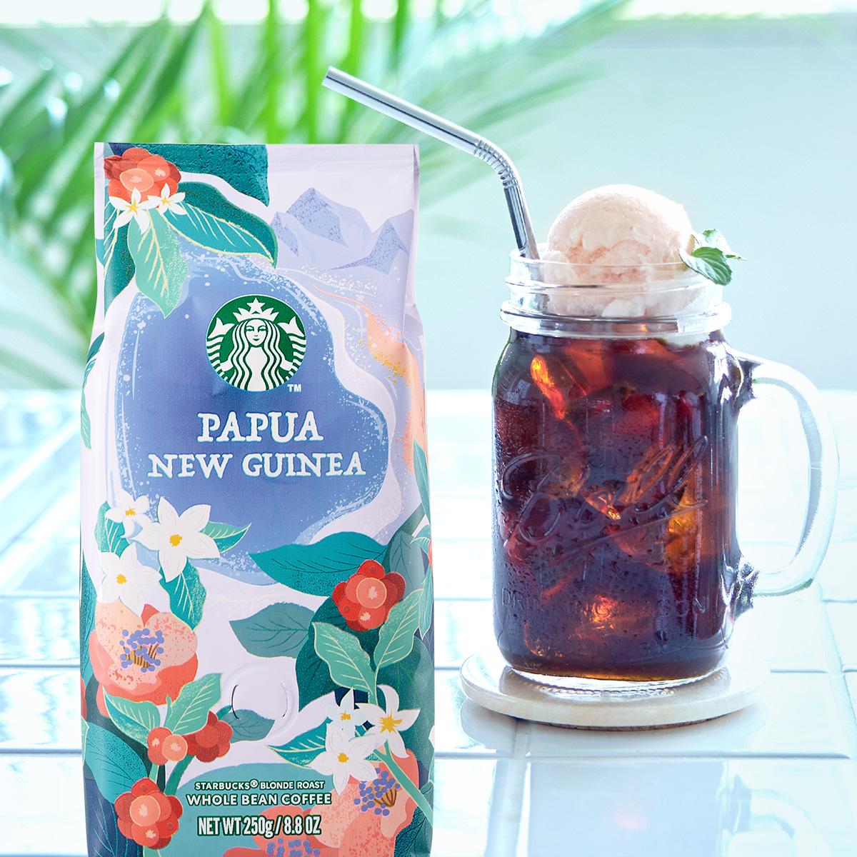 [季節のコーヒー]緑きらめく季節。アイスコーヒーで、ひんやり涼やかなおうち時間を。